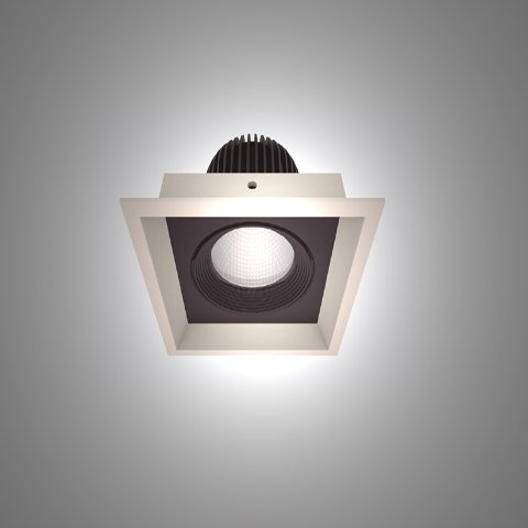 Artech Pelusa recessed architectural Fixed and Tilt LED downlight